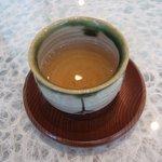 福茶 - 〆はほうじ茶
