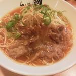 らぁ麺 國 - 和牛コウネらぁ麺・しょうゆ780円(税込)