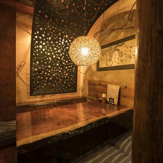 日本のトップデザイナーが創りあげた「大人のための隠れ家個室」