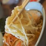 政吉食堂 - 麺はピロピロ系
