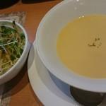 センターリバー - セットのサラダバー&スープ