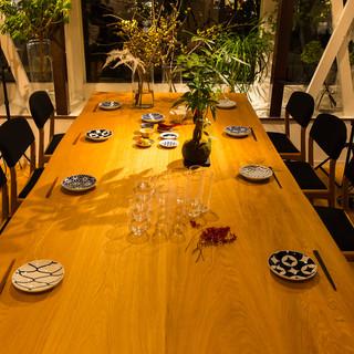 2階席は貸切可能なオシャレな和カフェ空間◆