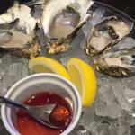 クイーンエンジェル - 追加で別産地産地飲んで牡蠣