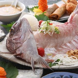 本格中華の海鮮料理