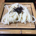 うどん屋 一 - 料理写真:ざるうどん(*´д`*)290円