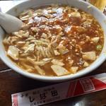 中華しば田 - H28.10.10 マーボ豆腐メン
