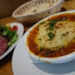ビストロ・ル・マン - 牛肉ときのこのトマト煮【ランチ】