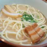 明石食堂 - 沖縄そば(小