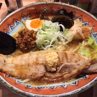 弟子屈ラーメン 新千歳空港店 - 北海道を去る前に味噌ラーメン!
