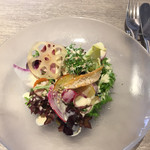 57688276 - 鎌倉横浜野菜のサラダ。