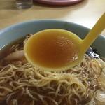 朝市ラーメン - スープアップ