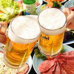 120分飲み放題付コースです(LO:90分)♪うれしい生ビールもOK!!