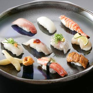 全国各地の厳選素材を使った和食