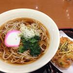友部サービスエリア(上り線)味の蔵 - 料理写真:紅あずまのかき揚げそば(660円)