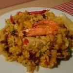 ラ コシーナ - 料理写真:地中海パエリア
