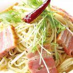DINING 蔵RA - 厚切りベーコンのアーリオ・オーリオ・ペペロンチーノ