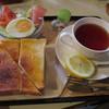 ジャルダン - 料理写真:モーニングセット 590円 (2016.10)
