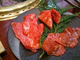 新東京焼肉 遊心 - 遊心定食のお肉たち