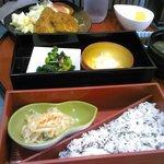 アニマル cafe けだま - けだま定食540円(通常850円)