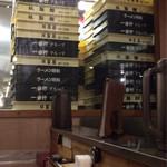 長浜豚骨ラーメン 一番軒 - 製麺室