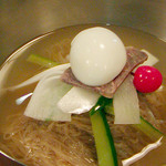 辰家 - ムルネンミョン(平壌式水冷麺)