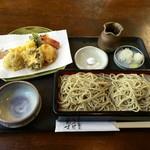 手打ち蕎麦 相生坊 - 料理写真:天せいろ、2200円です。