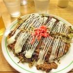 お好み亭 - 手作りマヨネーズをかけた広島風ミックス焼