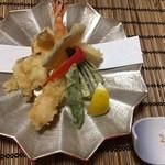 あびこ家 - 天ぷら