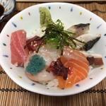 あびこ家 - ミニ海鮮丼