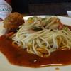 助宗食堂 - 料理写真:ミラカン(ミートボールトッピング)