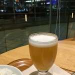 カフェ&ミール ムジ - 白穂乃香(プラス400円のミニビール)