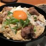 高田屋 - 炭火焼鳥親子丼とざるそばのセット