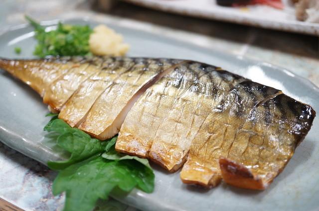 田や - 鯖のくんせい(650円)