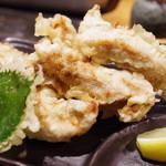 山元麺蔵 - 鶏ささみ天