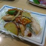 大樽 - 白身魚と野菜のスイートチリソースあえ(201610)