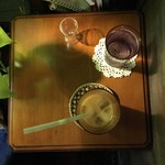アール座読書館 - アイスカフェオレ