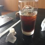 久香亭 - 微妙な量のアイスコーヒー
