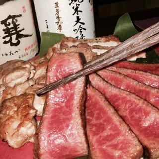"""鮮度の高い""""阿波牛""""阿波尾鶏""""など、郷土料理をご堪能下さい。"""