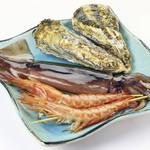 鮮宴丼ひろし - 海鮮焼きBセット