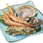 鮮宴丼ひろし - 海鮮焼きAセット