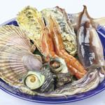 鮮宴丼ひろし - 海鮮焼きCセット