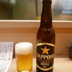 めなみ - 瓶ビール(小)500円