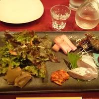 我茶我茶-おつまみプレート2016/10