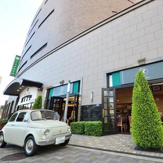 三田駅から徒歩5分!ホテルメルクス内のレストラン。