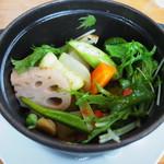 レギューム - 当店のspecialite's 季節野菜のバリグール風