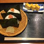 おひつ膳 田んぼ - 2016年10月20日 鮭いくらと明太子 玉子焼き