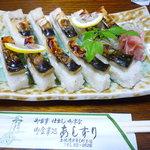 御食事処 あしずり - 焼きサバ寿司(¥1000