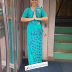 57720697 - 入口。店は2F スリランカ航空のハリボテがお出迎え。