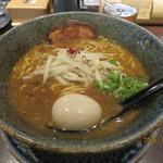 ラーメン札幌 一粒庵 - 味噌ラーメン¥750