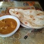 インドレストラン ムンタージ - 料理写真:チキンカリー